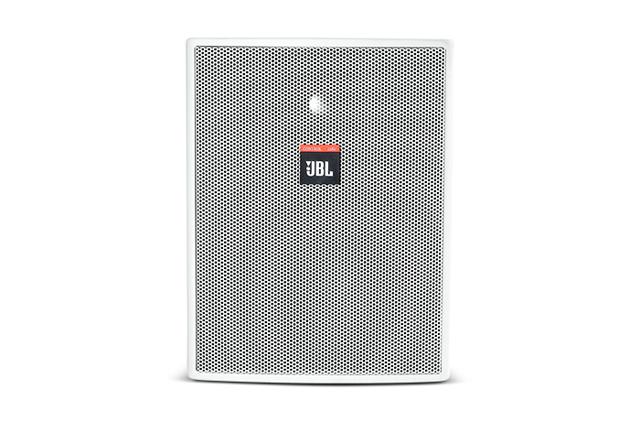JBL CONTROL 25AV-WH Control 25AV Indoor/Outdoor Loudspeaker (White)