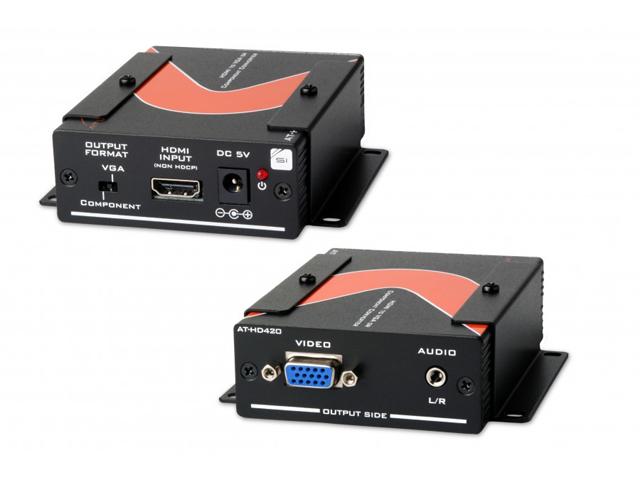 Atlona AT-HD420 HDMI to VGA/Component + Stereo Audio Format Converter