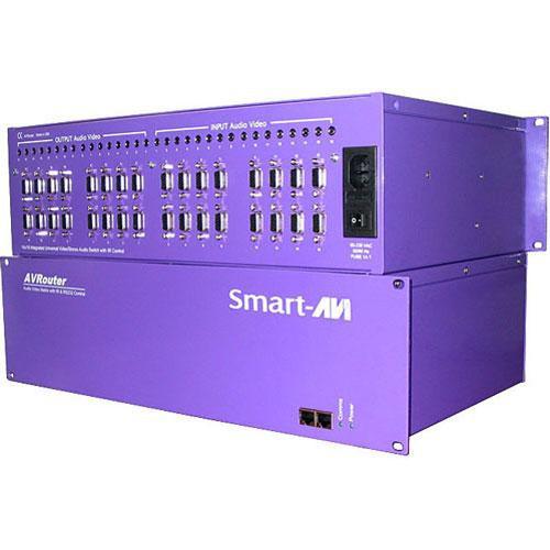 SmartAVI AV16X16AS 16 UXGA/Component + Audio to 16 Monitors/Speakers Switch