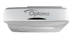 Optoma ZH400UST 4000lm Full HD UST DLP/Laser Projector, Refurbished - OPEN BOX