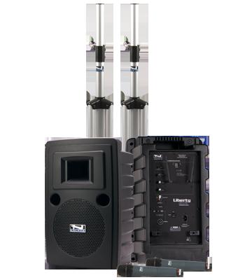Anchor Audio LIB-DPDUAL-AIR Liberty Deluxe AIR Package DUAL
