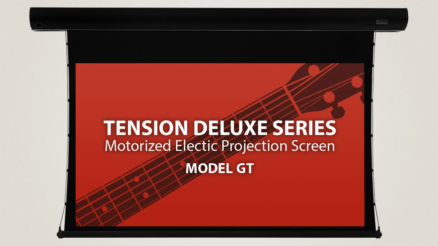 Severtson 154in. 16:10 Tension Deluxe Electric Screen, SeVision 3D GX