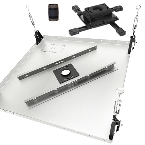 Chief Suspended Tile Replacement Kit w/ Universal Projector Mount