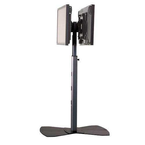 Chief MF2UB Medium Flat Panel Dual Display Floor AV Stand