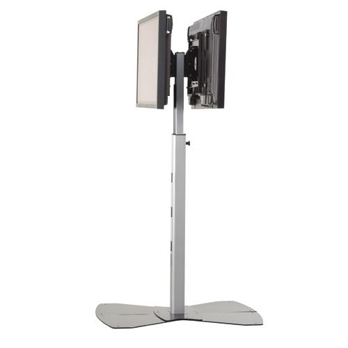 Chief MF2US Medium Flat Panel Dual Display Floor AV Stand