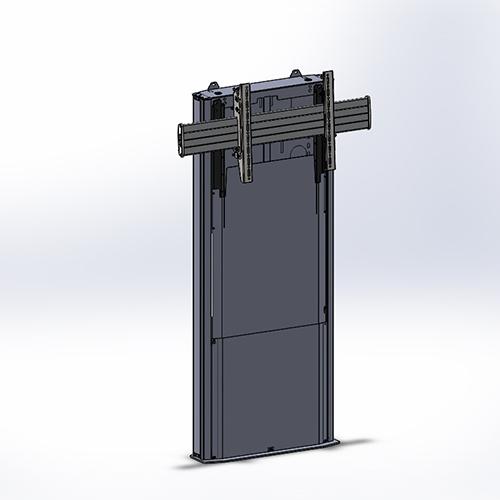 Chief MFD1U Medium Fusion Dynamic Height Adjustable Floor Support