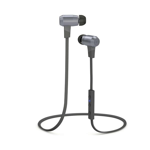 Optoma BE6 Grey NuForce Superior Performance Bluetooth Earphones - Grey