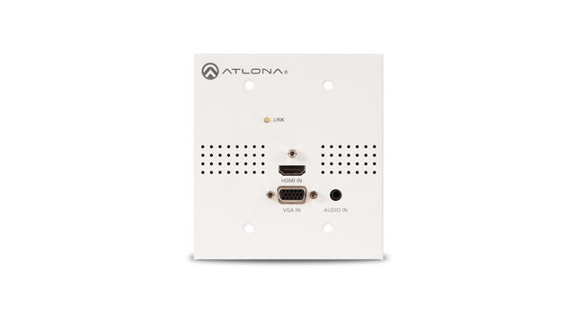 Atlona AT-HDVS-TX-WP-NB Blank Face Plate for HDVS Wall Plate Switchers