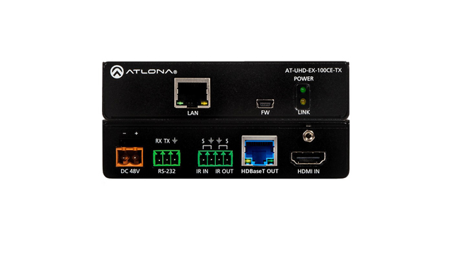 Atlona AT-UHD-EX-100CE-TX 4K/UHD 100M HDBaseT Transmitter