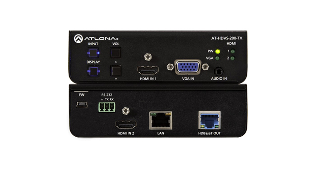Atlona AT-HDVS-200-TX Three-Input HDBaseT Switcher for HDMI & VGA Inputs