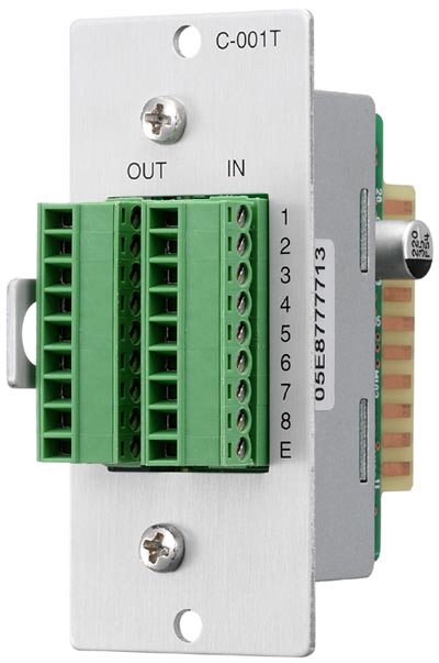 TOA C-001T 8-channel Input/Output Control Module