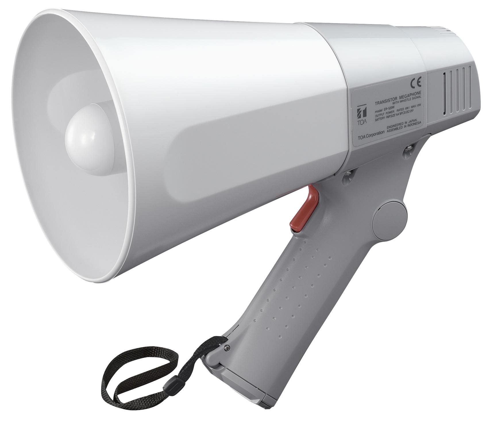 TOA ER-520W 6W Compact Handheld Megaphone w/ Whistle