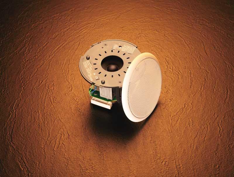 TOA F-1522SC 4in. Full-Range Ceiling Speaker (6W)