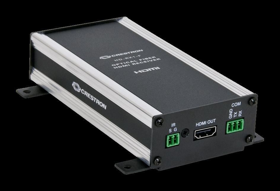 Crestron HD-RX1-F HDMI over Fiber Receiver