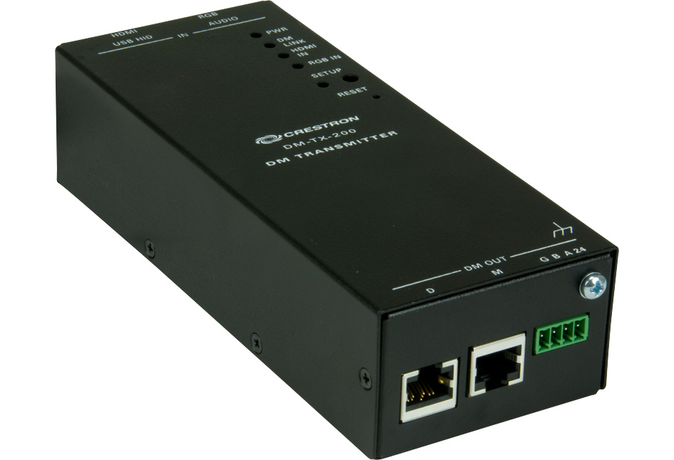 Crestron DM-TX-200 DigitalMedia CAT Transmitter 200 & Switcher