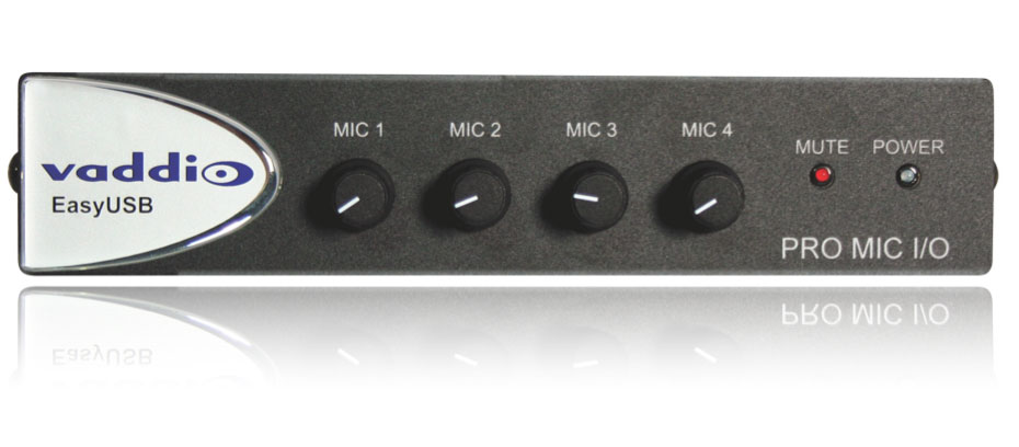 Vaddio 999-8520-000 Pro Microphone I/O Component for EasyUSB Mixer/Amp