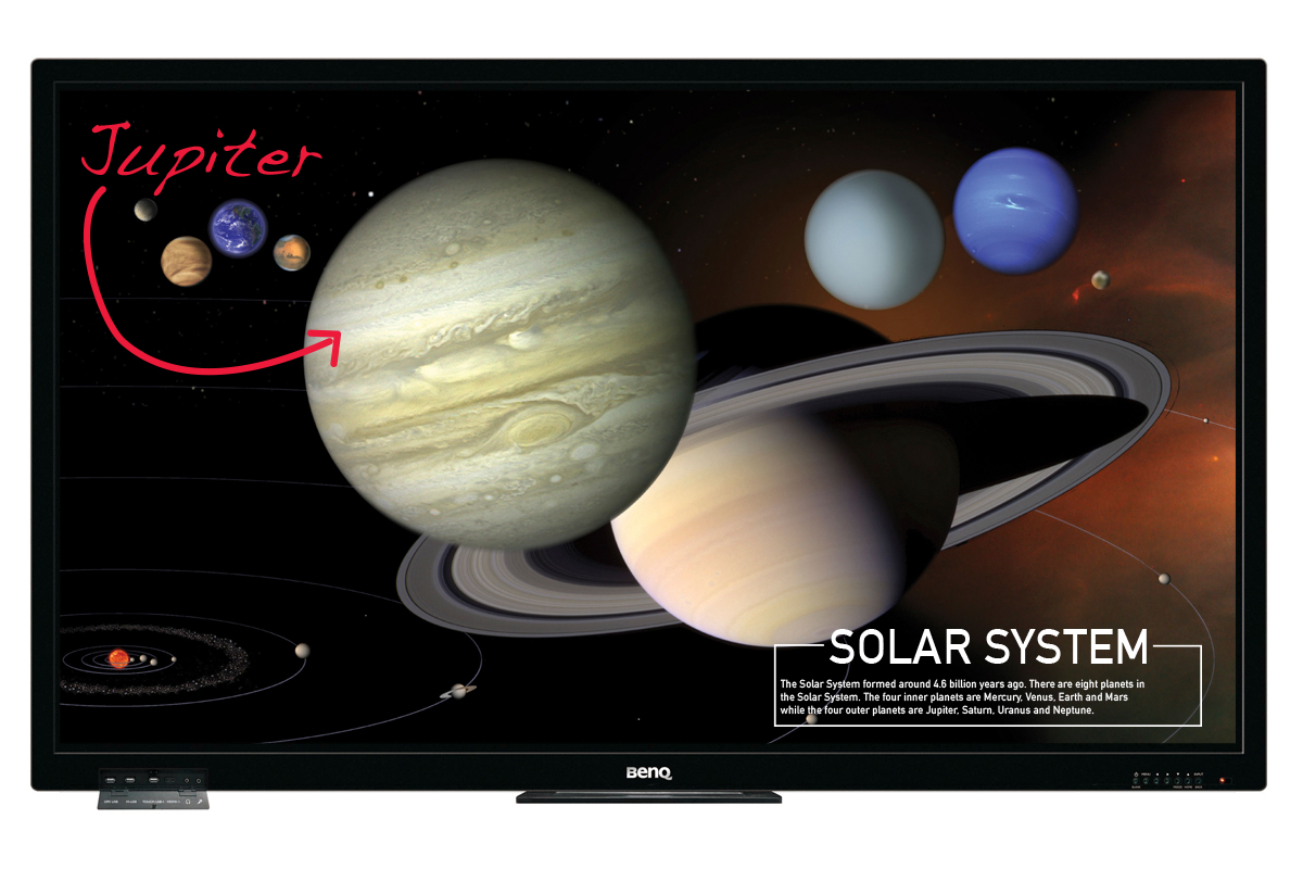 the nine planets - HD1200×800