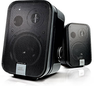 JBL C2PS Compact Powered Reference Monitor Stereo Pair Speaker System