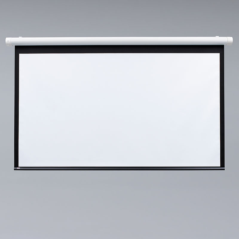 Draper 137157 Salara/M Manual Projection Screen w/ Auto Return 100in