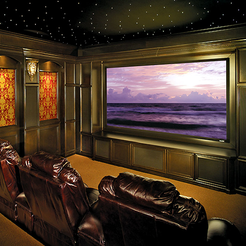Draper 253285 Onyx Veltex Fixed Frame Projection Screen 100in