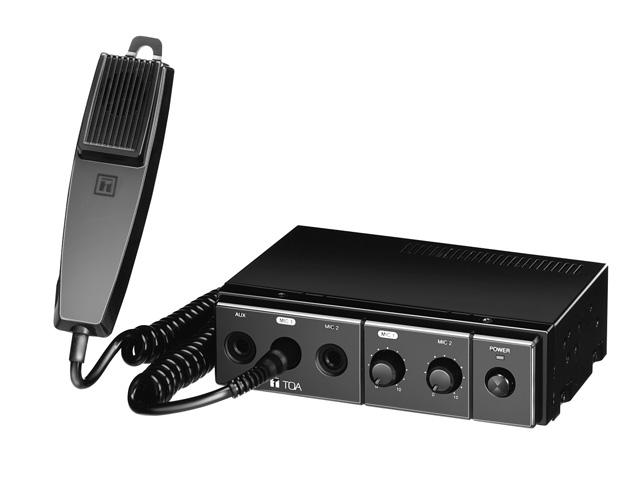 TOA CA-115 Mobile Mixer/Amplifier