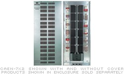 Crestron CAEN-4X2 Automation Enclosure, 4 modules highx2 modules wide