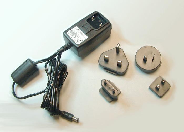 Hall 511-3A-161WP05 5v DC Universal Power Supply with International Plug Kit