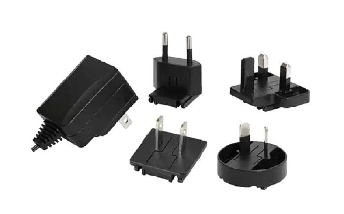 Hall 511-U6V1AP6 Power Supply, 6V, 1A Wall Mount w/ Global Plug Kit