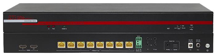 Hall ECHO-8S 8 Channel HDBaseT™ Splitter (Sender)