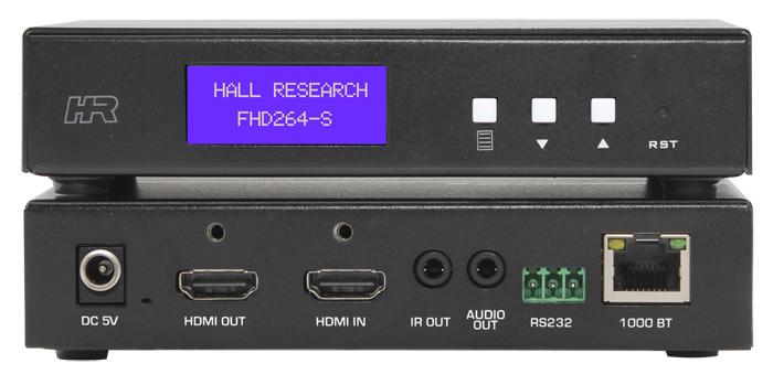 Hall AV & Control over IP Sender w/ Loop output, Audio, RS232 over IP & IR