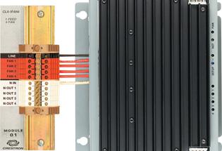 Crestron CLX-1FAN4 4-channel Fan Speed Control Module