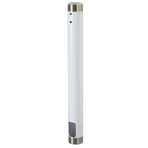 Chief CMS-012W 12-inch Speed-Connect Fixed Extension Column (White)