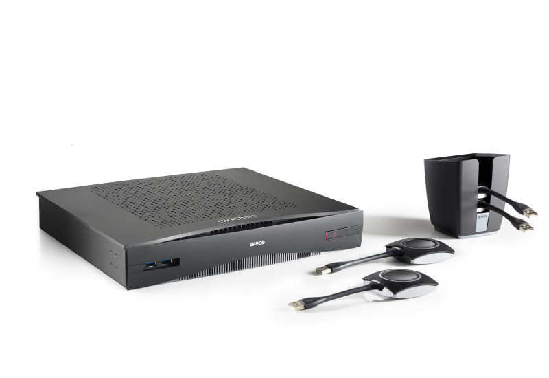 Barco ClickShare CSE-800 Wireless Collaboration System for Boardroom/Conference Rooms