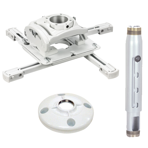 Chief KITPD012018W Preconfigured Projector Ceiling Mount Kit