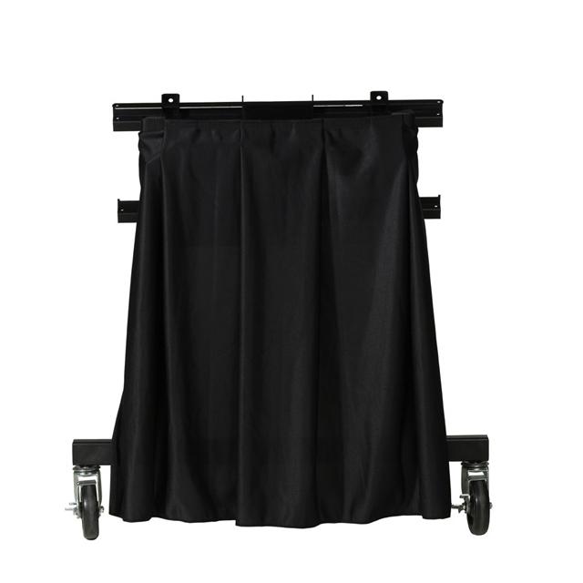 Da-Lite 7061 Drapery or Skirt for Confidence Monitor Stand