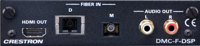 DigitalMedia Fiber Input Card with Down-mixing for DM Switchers