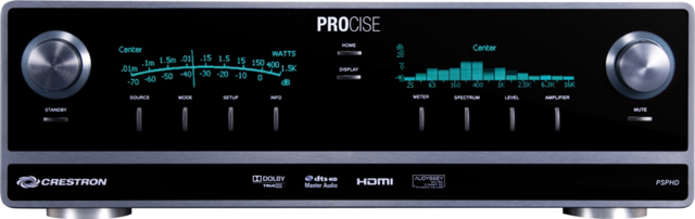 Crestron PSPHD 7.3 High-Definition Professional Surround Sound Processor