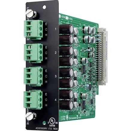 Toa Electronics D-971E - 4 x Balanced Line Output Module