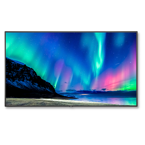 NEC C751Q-AVT2 75in. 4K Low-Profile Commercial Display w/ Tuner