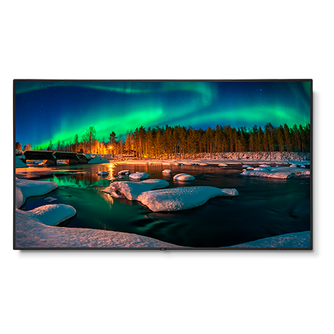 NEC C981Q-AVT2 98in. 4K Low-Profile Commercial Display w/ Tuner