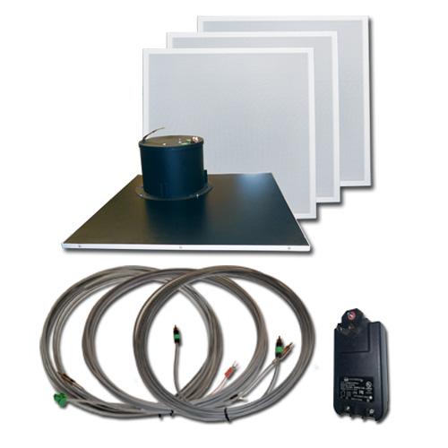 AMK Innovations, Inc. QT615-EDU Self Amplified Ceiling Speaker Kit