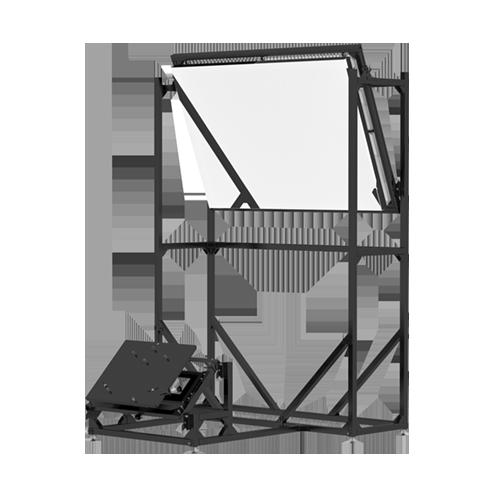 Da-Lite 23079  Rear Projection Module, Single Mirror