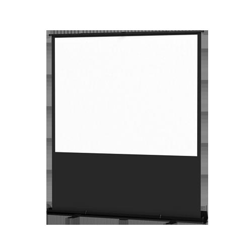 Da-Lite 33033 Matte White 4:4 48in. x 64-80in. Deluxe Insta-Theater