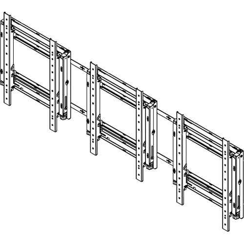 Sharp PN-PW310 Sharp PNPW440 3x1 Video Wall Mounting System (Landscape)