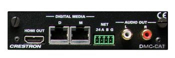 Crestron DMC-CAT DigitalMedia CAT Input Card for DM Switchers