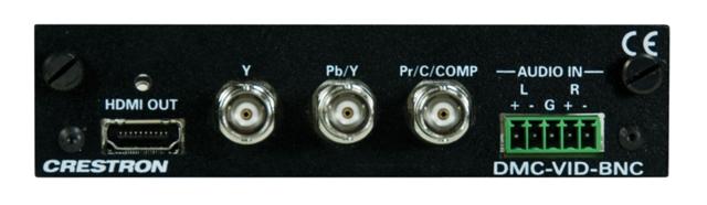 Crestron DMC-VID-BNC BNC Analog Video Input Card for DM Switchers