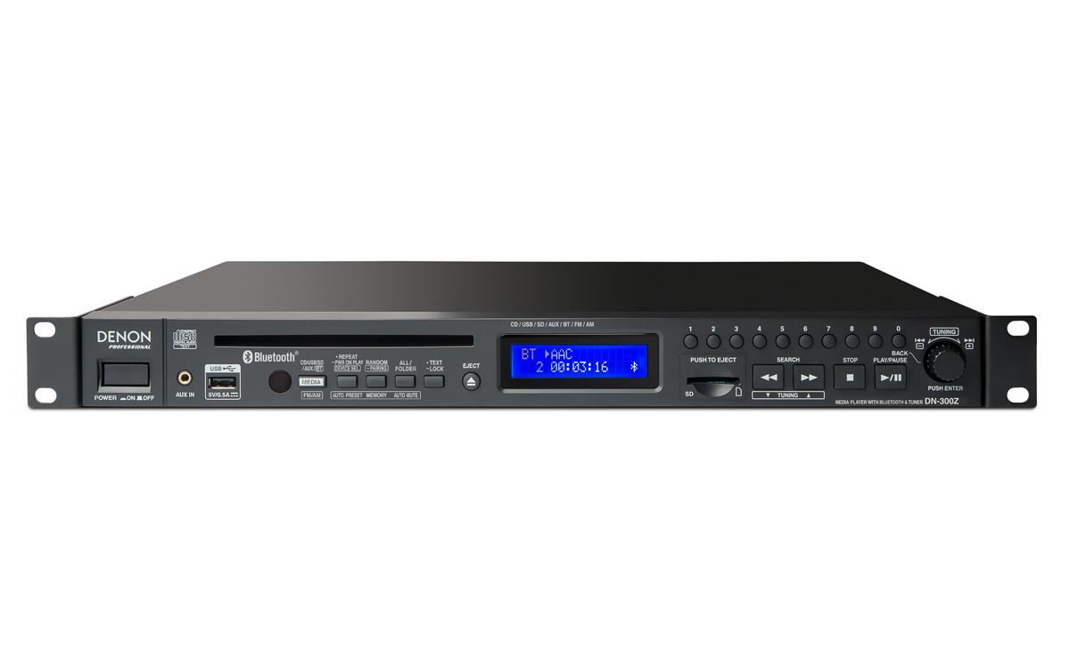 Denon DN-300z CD/Media Player w/ Bluetooth/USB/SD/Aux & AM/FM Tuner