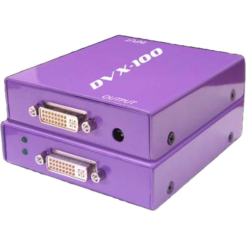 SmartAVI DVX-100S Active DVI Repeater (M/F) (Up to 50 Foot Cable)