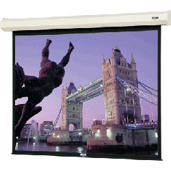 Da-Lite 74656 72in. Cosmopolitan Electrol Motorized Screen (Matte White) 4:3