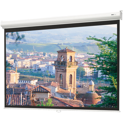 Da-Lite 91956 84x84in. Designer Contour Manual Screen, Matte White (1:1)